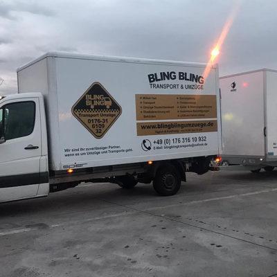 Bling Bling Umzugswagen